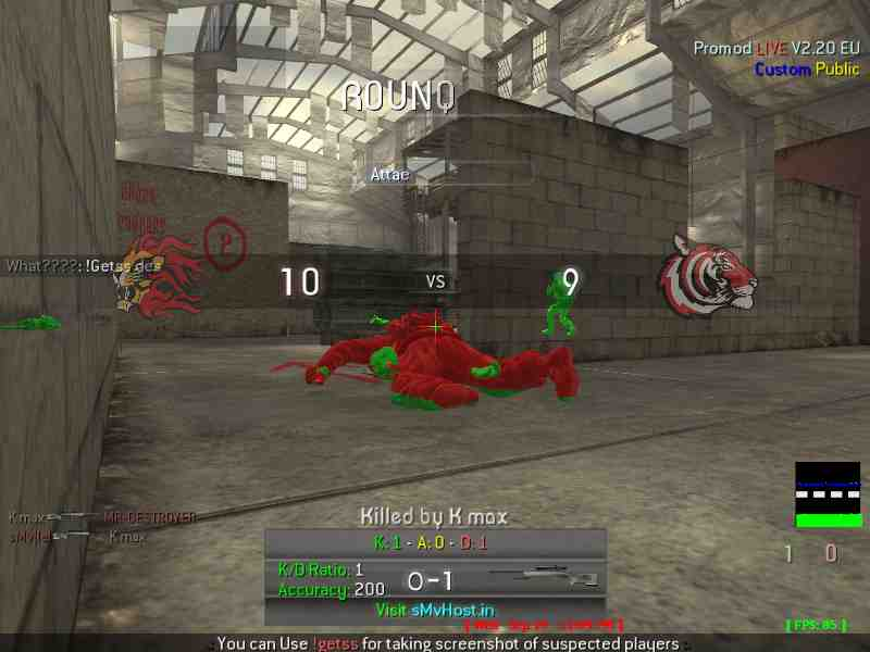 sMv GaMinG | COD4 ProMoD | Screenshot Panel - Banned cheaters